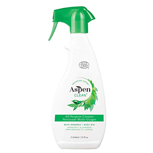 AspenClean All Purpose Cleaner with Organic Grapefruit & Lavender Essential Oils