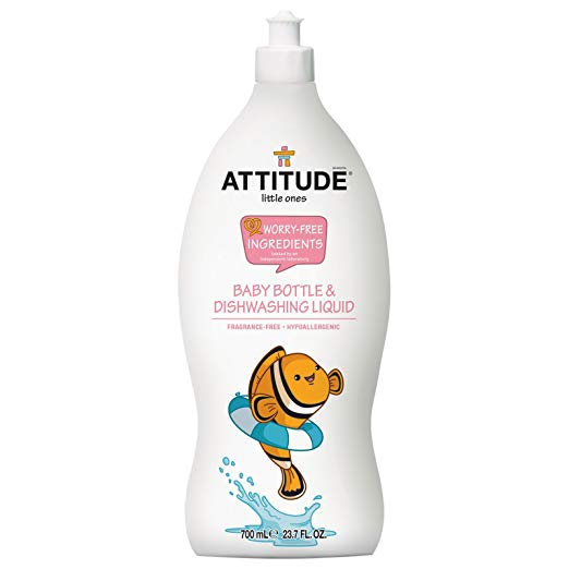 Attitude Baby Bottle & Dishwashing Liquid