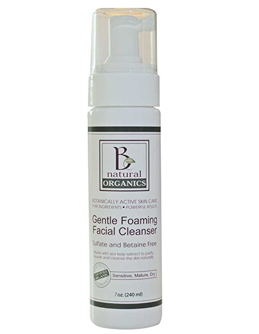 Be Natural Organics Gentle Foaming Facial Cleanser