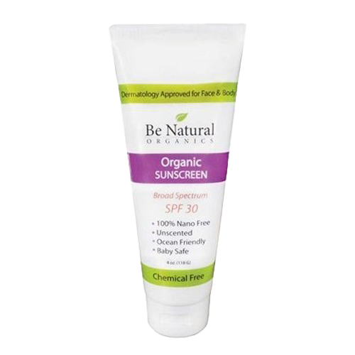 Be Natural Organics Organic Sunscreen